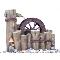 Quality Water Wheel Decorative Outdoor Tiered Water Fountains Easy Install wholesale