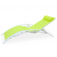 Quality Width 190mm Breadth 640mm Adjustable Outdoor Patio Chaise Lounges All Weather wholesale