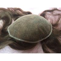 Quality Elegant-wig high quality bleached knots French lace base toupee for women wholesale