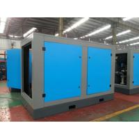 Quality High efficient double screw air compressor with water cooling , air cooling wholesale
