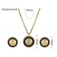 Quality Stainless Steel Necklace And Earrings wholesale