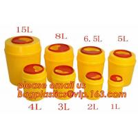Quality 3/5/8/10/15 liter square Sharp Container Sharp Box Medical sharps disposal container, Medical Materials & Accessories Pr wholesale