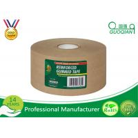 Quality Water Release Gum reinforced kraft tape , printed kraft tape For Carton Packing wholesale