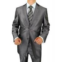 China 165 170 55% polyester 45% viscose wool Men business dress Anti-Shrink suits on sale
