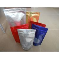 Quality Custom PET / PA/AL / PE / LDPE Stand up Ziplock Mylar Food Plastic Pouches Packaging wholesale