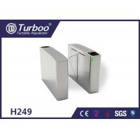 Quality Fingerprint Optical Barrier Turnstiles Access Control System Self Reset Function wholesale