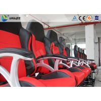 Quality Interactive Motion Theater Chair 4d Cinema Seating With High-Ene Pu wholesale