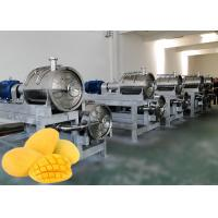 China Safety Mango Juice Processing Plant  Juice Processing Equipment 1 - 20 Ton Per Hour on sale