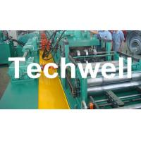Quality YX-86-194-312 W Beam Guardrail Roll Forming Machine For 2 - 4mm Material Thickness wholesale
