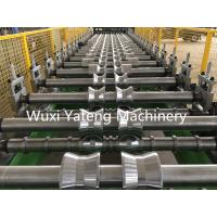 Quality Steel Materials Corrugated Roll Forming Machine Chain Drive Hydraulic Cutting Style wholesale