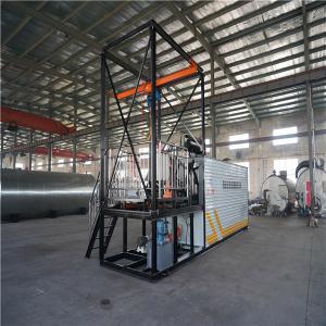 Large Bitumen Spraying Machine , 5 Tons / Hour Drum Decanting Equipment