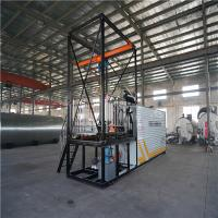 Cheap Large Bitumen Spraying Machine , 5 Tons / Hour Drum Decanting Equipment for sale