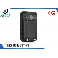 Quality LTE 3G / 4G Wireless Police Body Cameras For Law Enforcement GPS 32GB 3200mAh wholesale