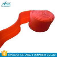 Quality Decorative Coloured Fold Over 10 - 30mm Elastic Binding Tape For Underwear wholesale