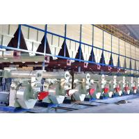 China Moving Floor Discharge Wood Chip Pellet Production Line Automated on sale