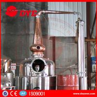 Quality Stainless Steel Home Alcohol Distiller Red Copper Bubble Caps And Column Plates wholesale