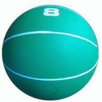 Quality 8Lbs Basketball Style Rubber Medicine Ball/Weight Ball for Exercise wholesale