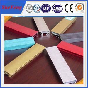 China colorful aluminum building material,industrial/decorative aluminum profile extrusion on sale