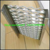 China lowes non slip stair treads/Perforated metal stair treads on sale