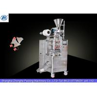Quality Small Automatic Tea Bag Packaging Machine 1.1 Kw 380v For Triangle Shaped Tea Bags wholesale