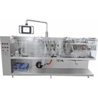 China Doypack Spout Pouch Packing Machine , Spout Pouch Filling Machine Weight 3800kg on sale
