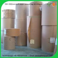 Quality BMPAPER Hot New Products For 2014 High Bursting Strength Brown Test Liner  for cement bags wholesale