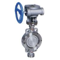 China worm gear butterfly valve on sale