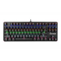 Quality Pc Gaming Portable Mechanical Keyboard 87 Keys Blue Switch With Backlit wholesale