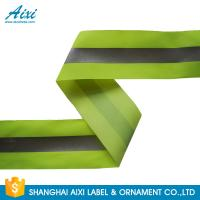 Quality 100% Polyester Ribbons Reflective Safety Tape Single Sided With Offer Printing wholesale