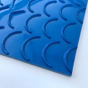 Quality High quality White Anti Slip Surface Crescent PVC Bottom PVK Conveyor Belt wholesale