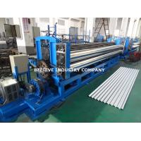 Buy cheap Corrugated Sheet Roll Forming Machine Galvanized Steel / PPGI Steel / Galvalume from wholesalers
