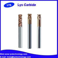 Quality HRC65 high hardness carbide end mills wholesale