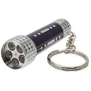 Quality Unique black, blue 2 pcs cells CR2032 led high power torch keychain wholesale