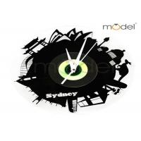 Quality Novelty Abstract Wall Clock Gift Quartz Analog Clock Silent Movement wholesale
