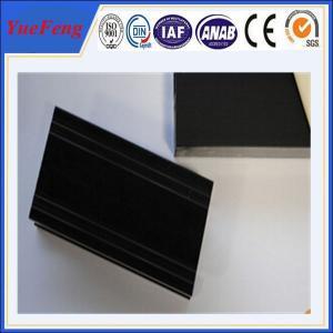 Quality 6000 Series Grade black anodized aluminum tube, aluminum anodizing equipment wholesale