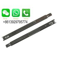 Quality Guangdong Ocean Hardware Co., Ltd 3609 model Plate with nickel ball bearing drawer slide wholesale