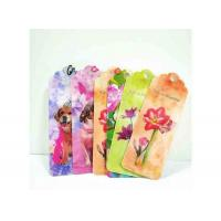 Quality Colorful Lenticular 3D Bookmark For Gift Promotional / Personalized Book Marks wholesale