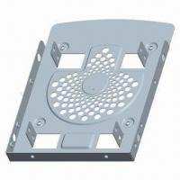 Quality Aluminum Dual 2.5-inch Hard Drive Bracket in Fan Design, OEM/ODM Orders are Accepted wholesale