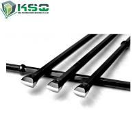 China Tungsten Carbide Integral Drill Rod with Chisel Bit for small hole drilling on sale