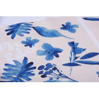 Quality Digital Inkjet Printing / Cotton Canvas Fabric With Beautiful Pattern wholesale