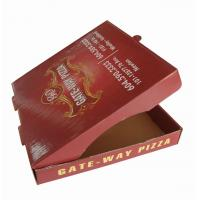 Buy cheap Accept Custom Order Pizza Box from wholesalers