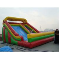 China Garden Double Large Inflatable Slide Party Rentals Muti Colored Wear Resistance on sale