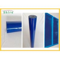 China Blue Color Self Adhesive Protective Film For Window Introduction on sale