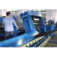 Quality Steel Storage Silo Manufacturing Line with GearBoxDrive , 1.2-4.2mm Thickness wholesale