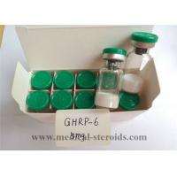 China Ghrp-6 Human Growth Hormone Peptide / Natural Growth Hormone Supplements For Fat Loss on sale