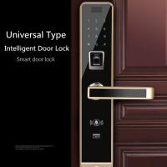 Quality Semiconductor Universal Fingerprint Code Lock , Smartphone Controlled Door Lock wholesale