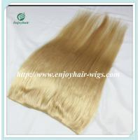 China Flip-in Hair extension 8-26 613# color Straight Human Hair Brazilian hair extension on sale