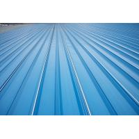 Quality Erosion Proof Corrugated Galvanized Steel Roofing Sheets Of Inter - Lock Type wholesale