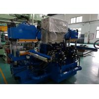 China 4 Columns 250mm Plunger Stroke Plate Vulcanizing Machine For Rubber Bearing Seals on sale