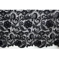 Cheap Garment Accessories Chemical Lace Fabric Water Soluble lace fabric in Different for sale